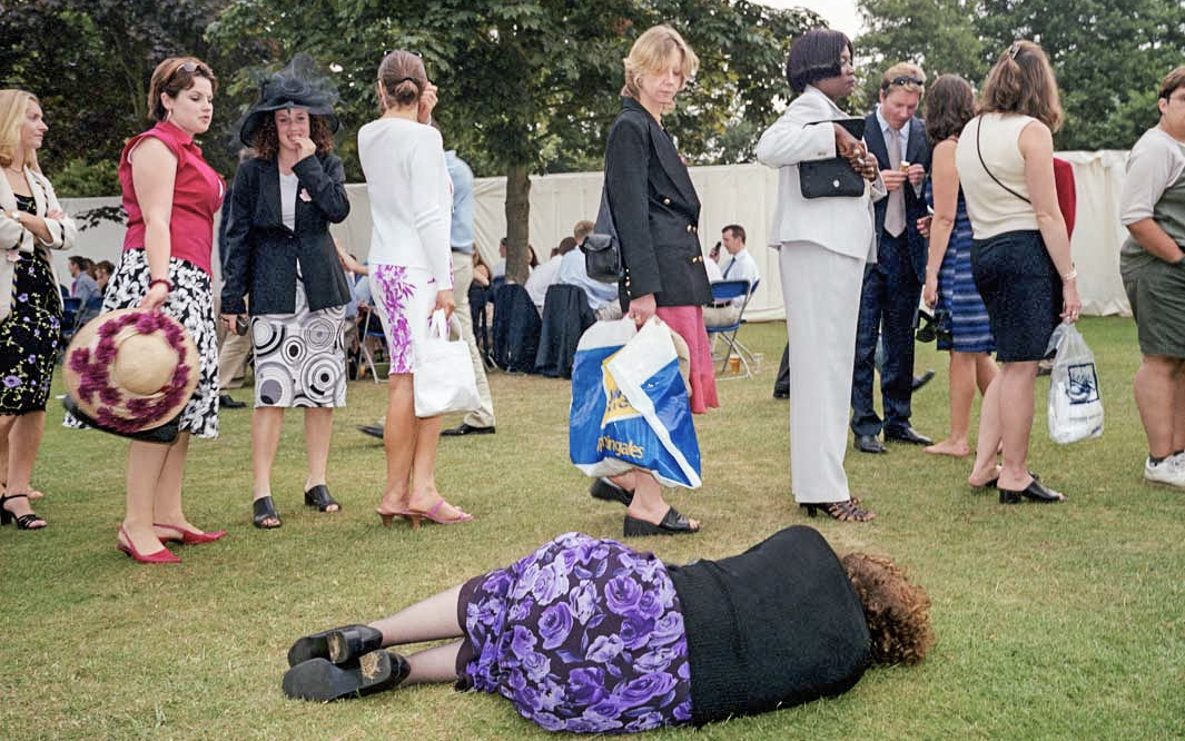 Overboard at the Henley Regatta