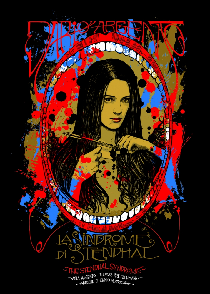 The art of Dario Argento | Dario Argento posters rebooted
