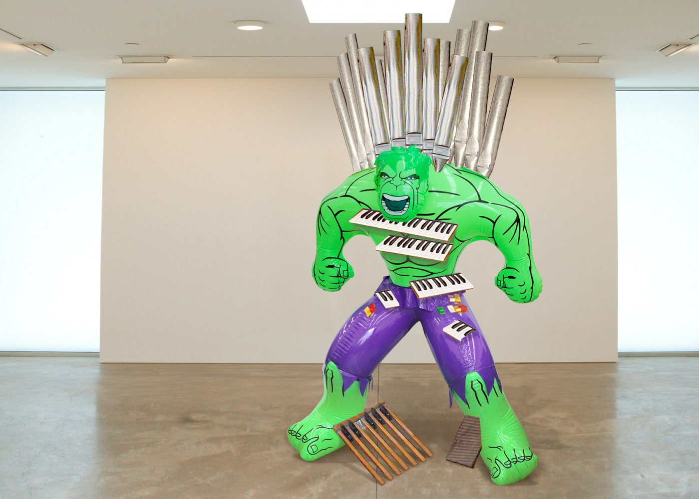 Hell is other people jeff koons at the centre pompidou for Art minimal centre pompidou