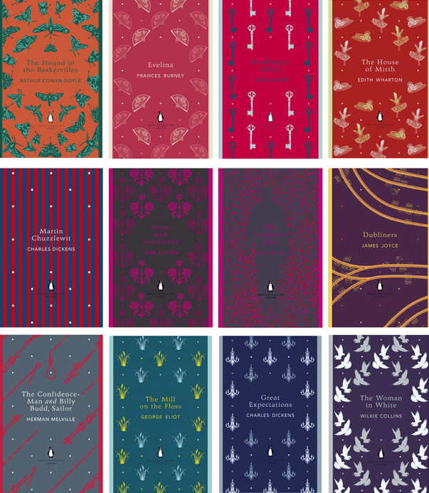 Penguin Book Covers Poster ~ Penguin classics coralie bickford smith s new design covers