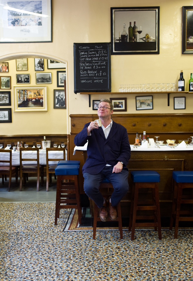 Fergus Henderson of St John restaurant London