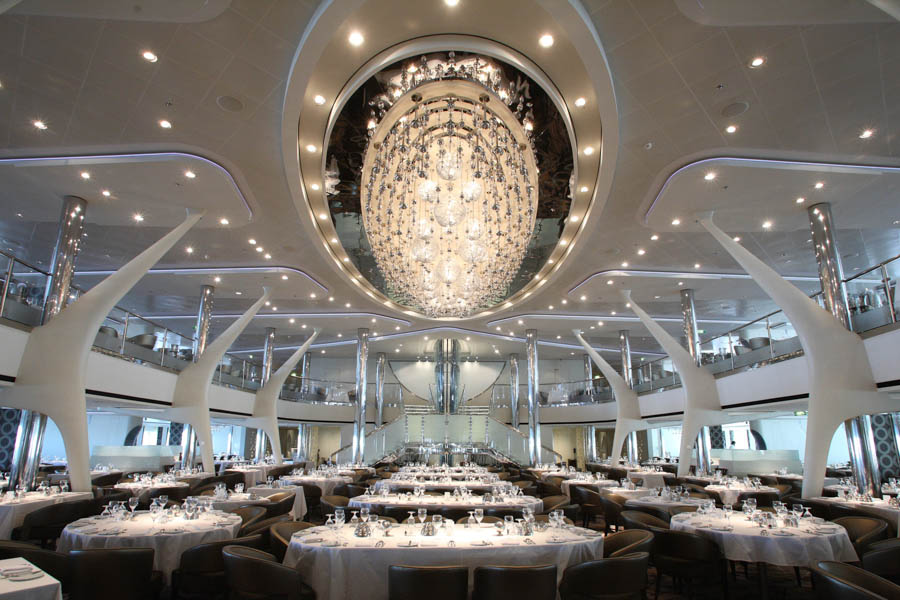 Celebrity Reflection Dining: Restaurants and Food ...