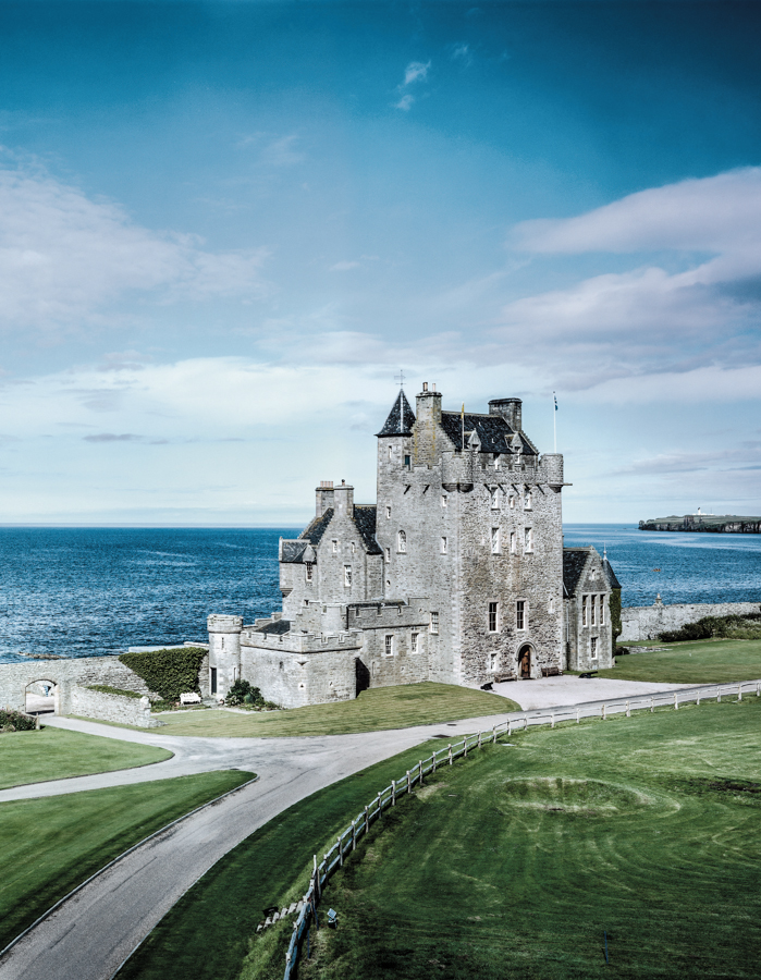 Ackergill Tower, castles in the Scottish Highlands