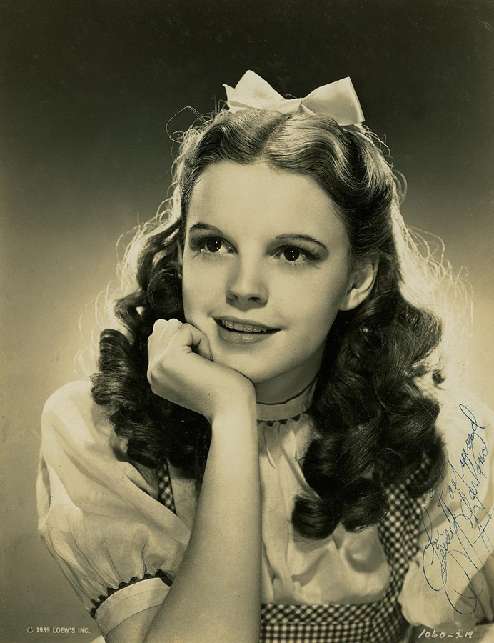 4 Cadogan Lane London Judy Garland