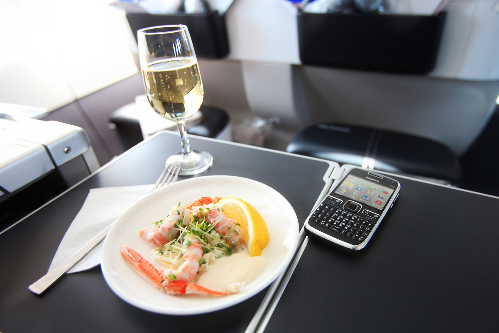 review London City British Airways to New York