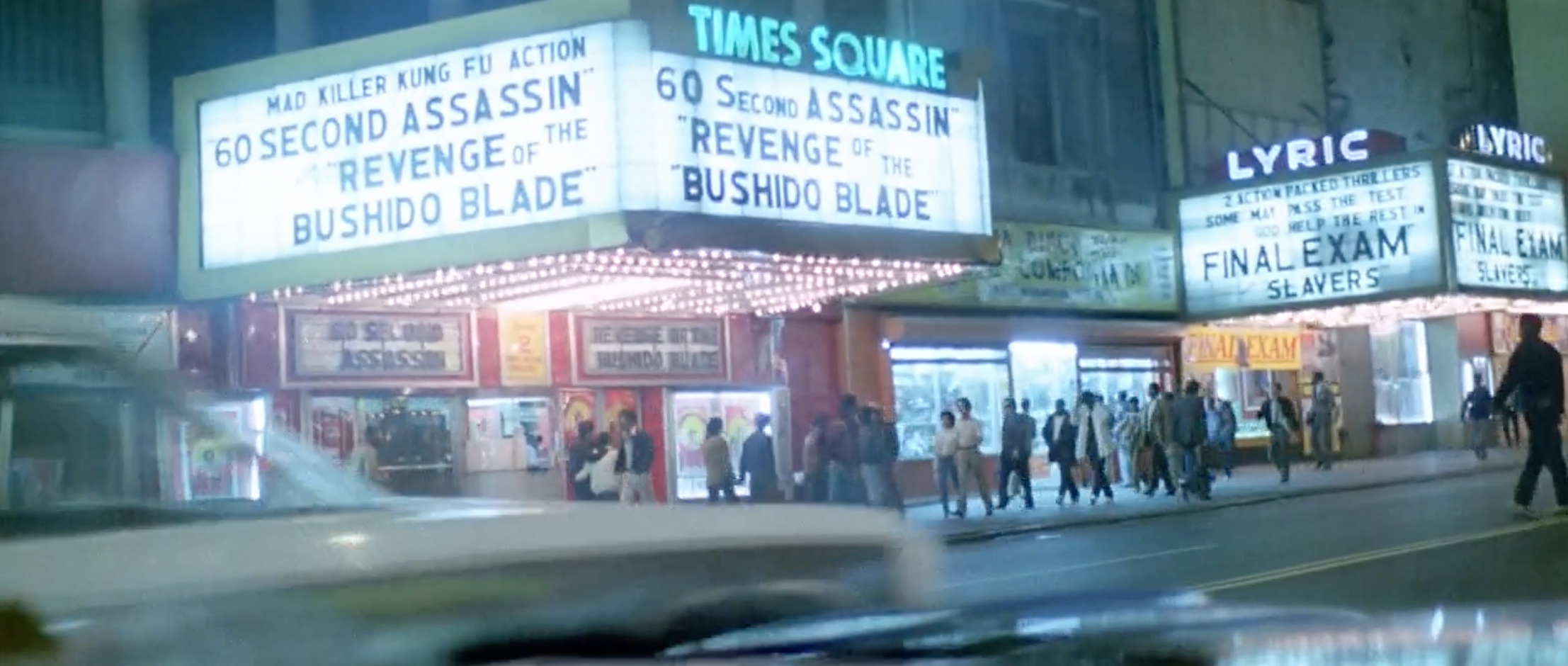 Times Square 1982, The New York Ripper