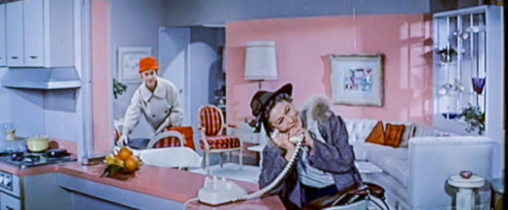 Thelma Ritter and Doris Day in Pillow Talk