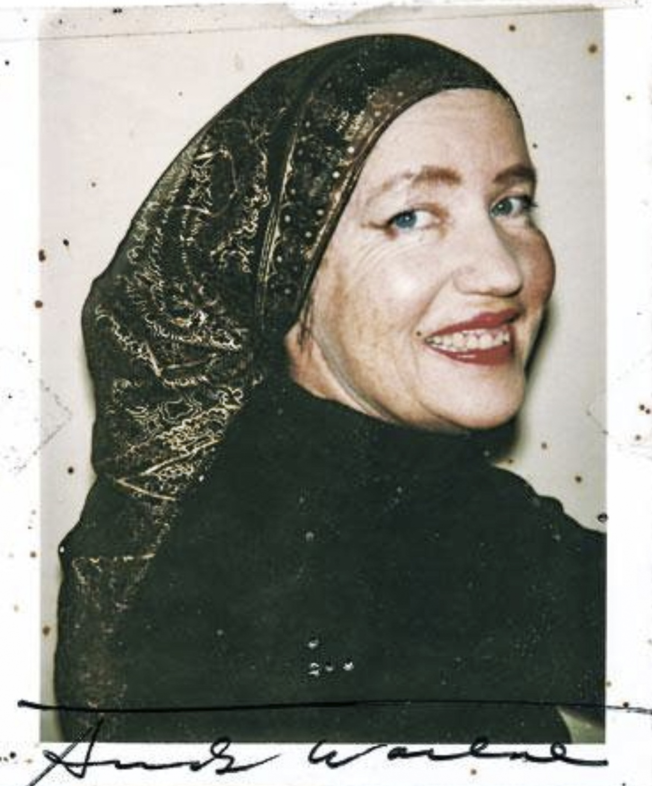 Andy Warhol's Polaroid of Little Edie