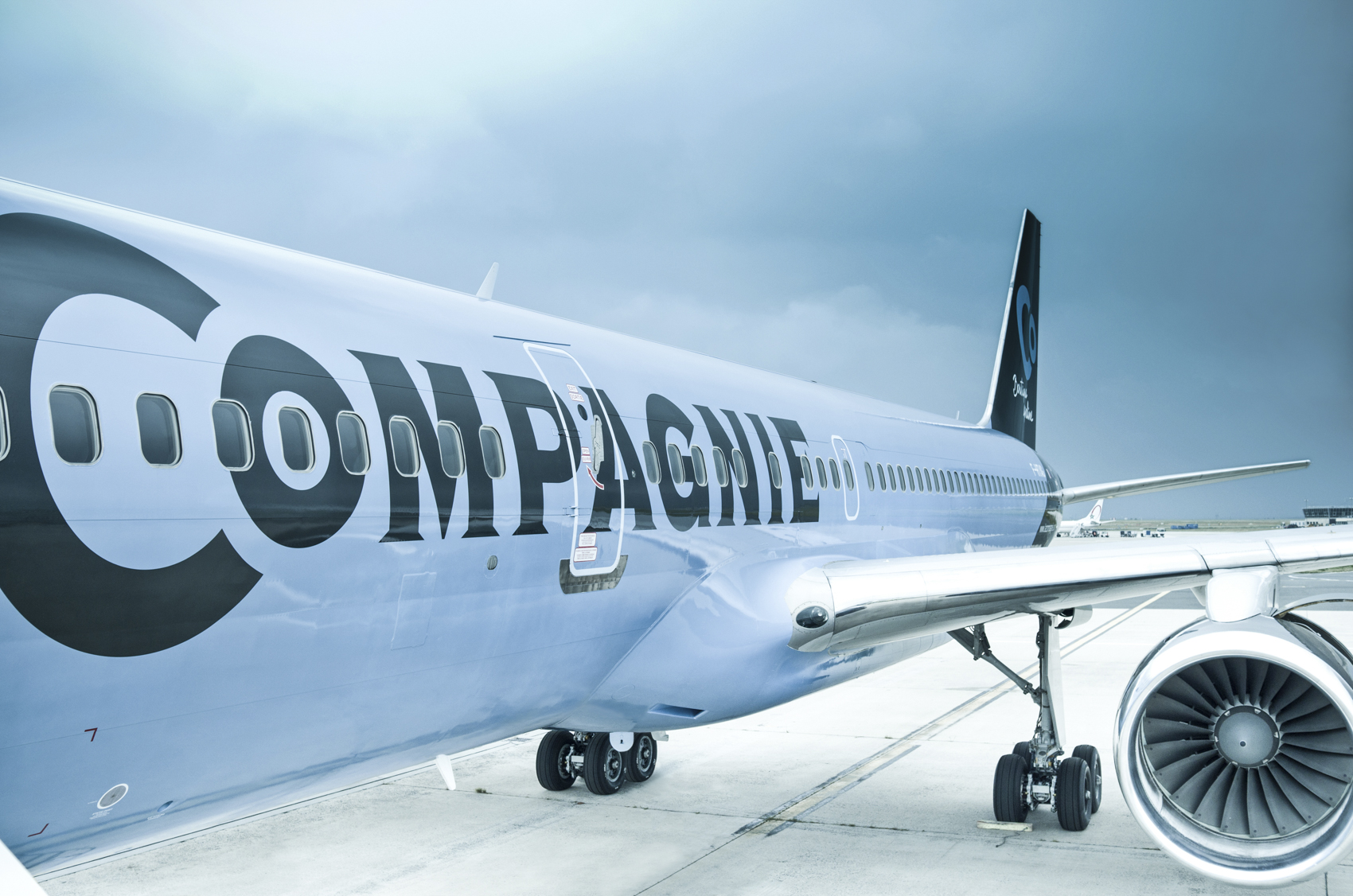 One of La Compagnie's Boeing 757-200 aircraft
