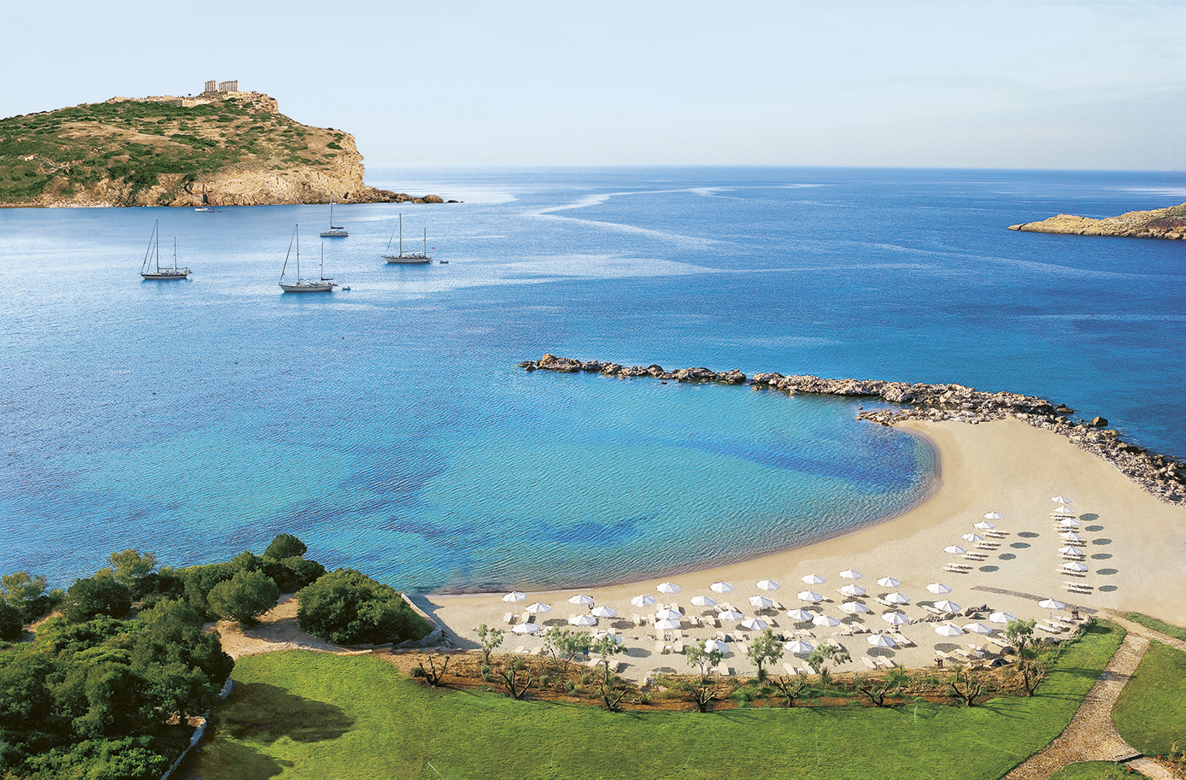 Nice, huh? Grecotel Cape Sounio, Greece