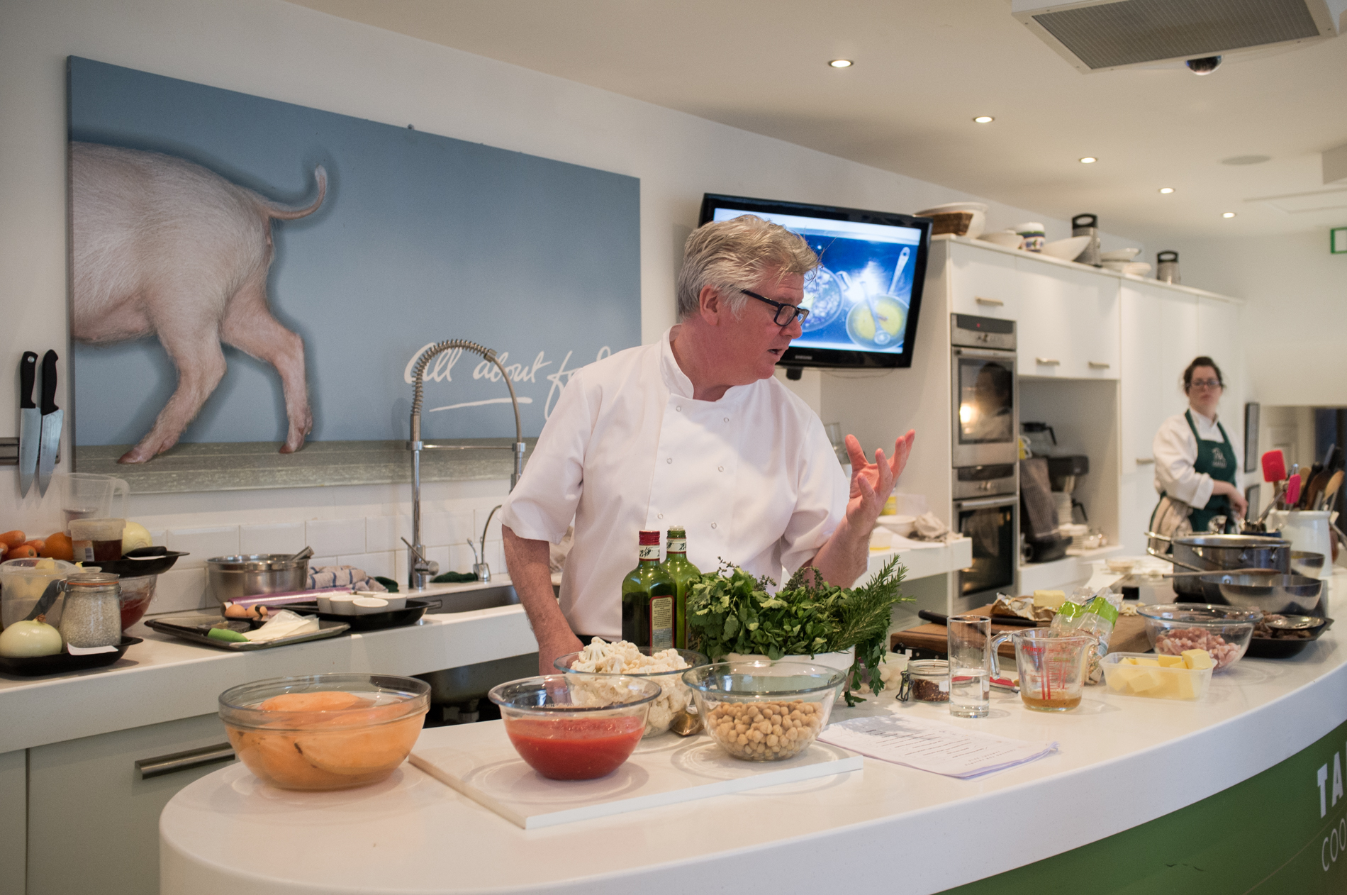 Paul Flynn at The Tannery Cookery School