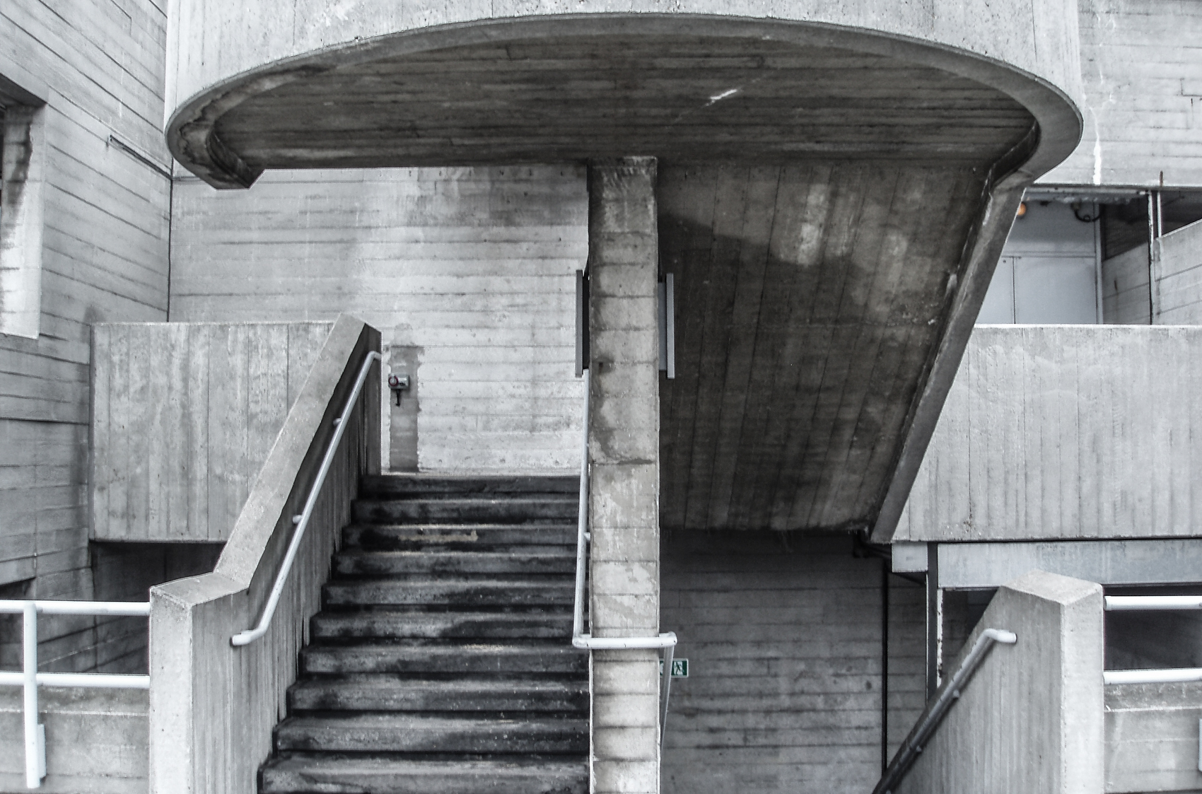Southbank Centre - Queen Elizabeth Hall stairway, London