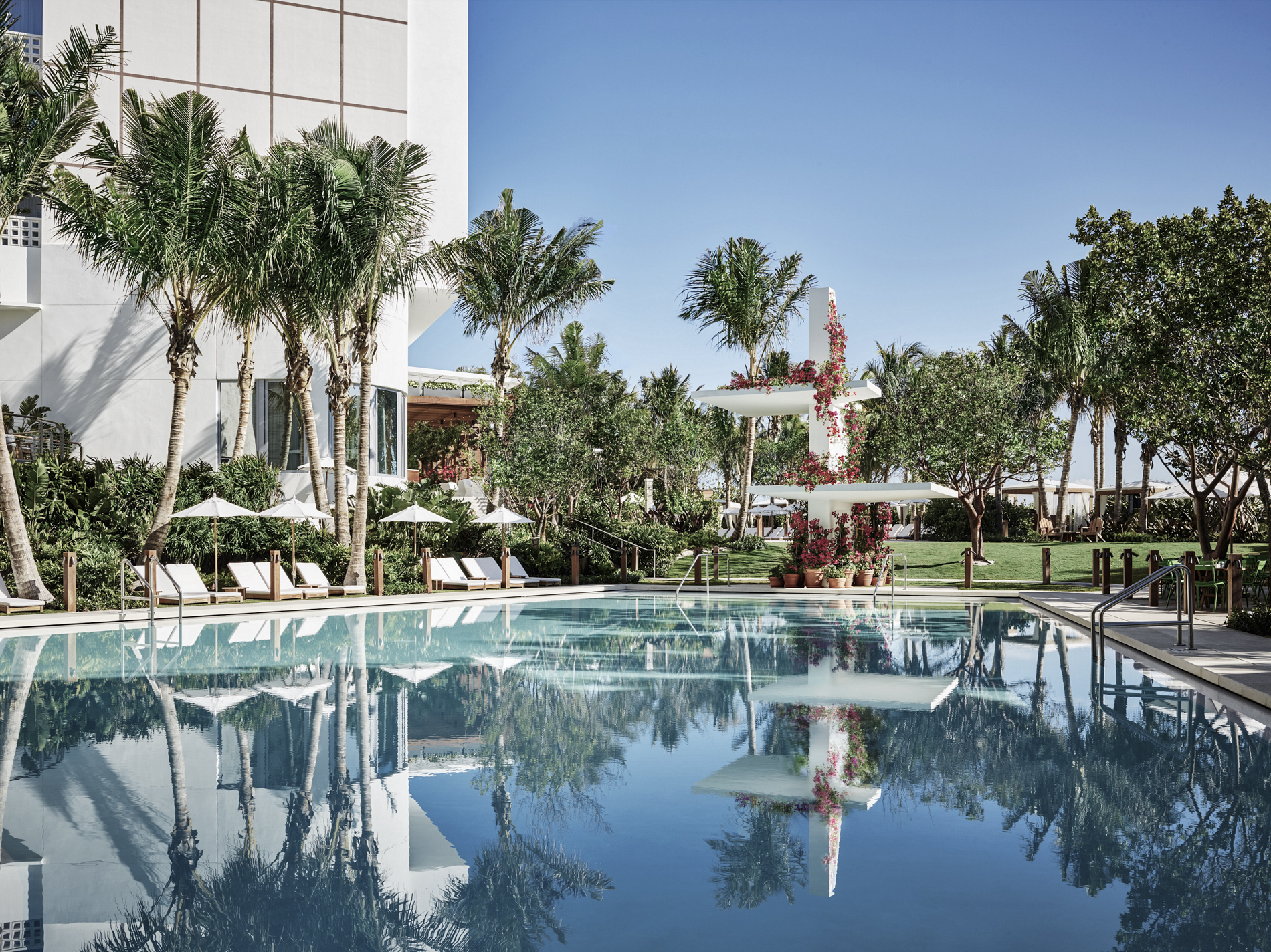 The pool at Miami Beach EDITION
