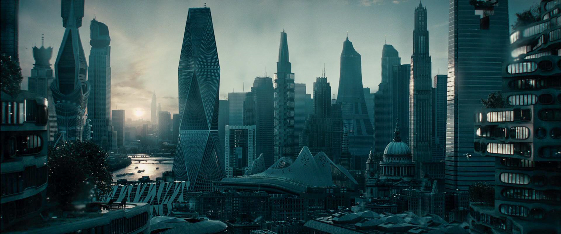 The London of the future - Star Trek into Darkness