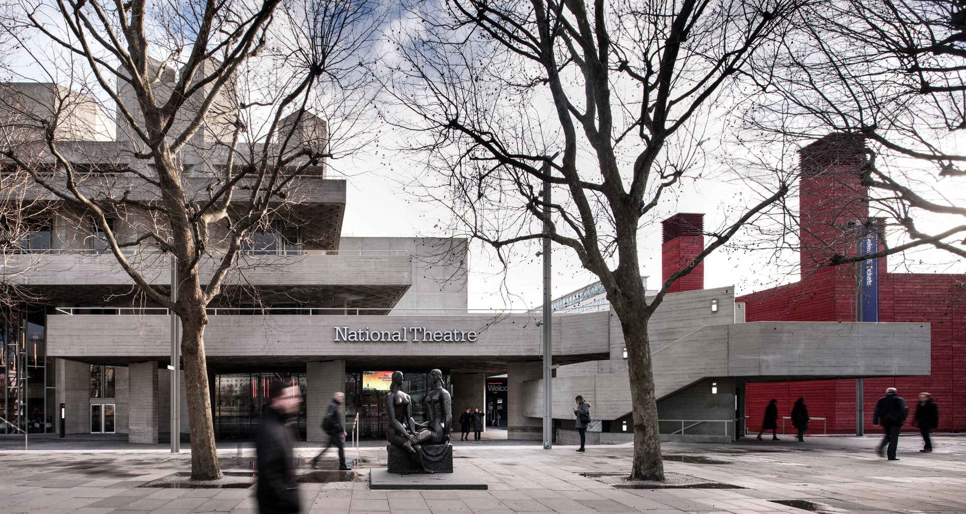 The National Theatre, by Philip Vile