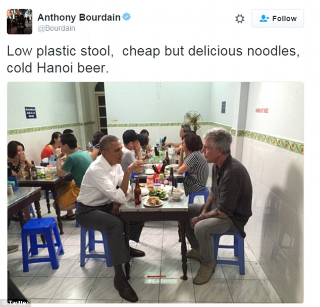 Bourdain Tweets
