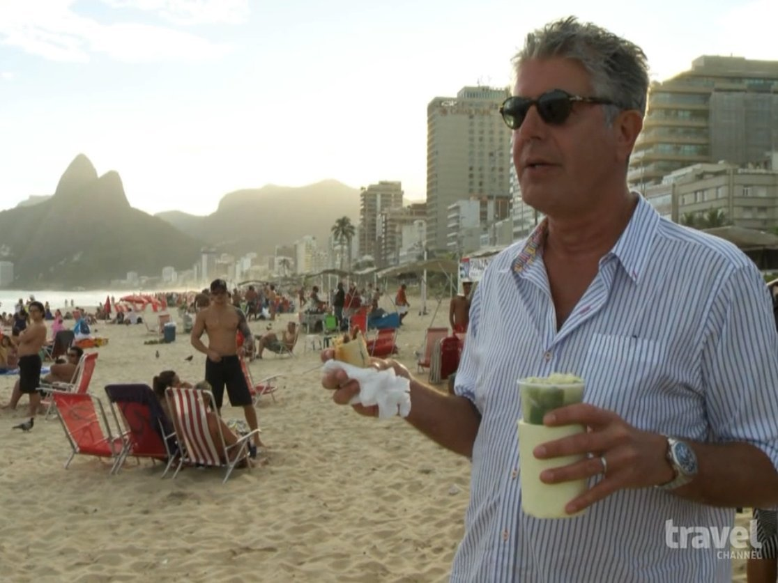 Anthony Bourdain: No Reservations in Rio
