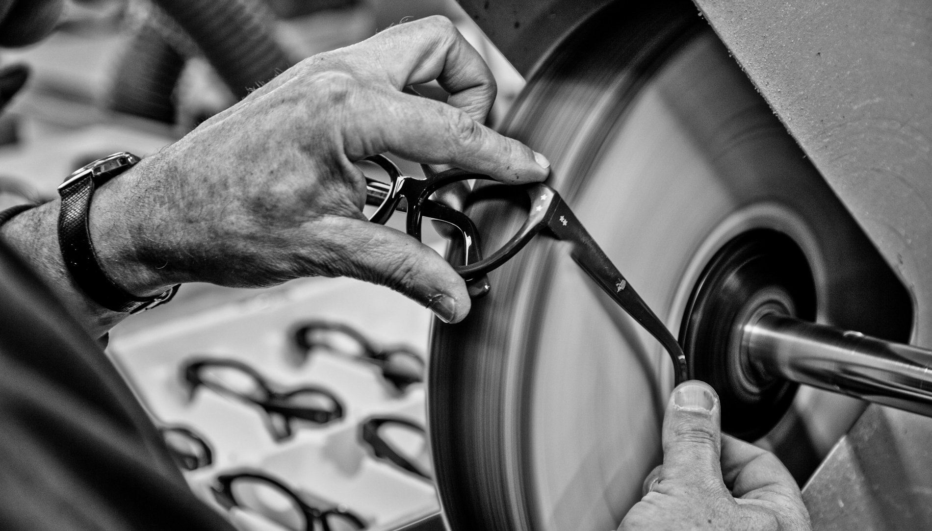 Cutler and Gross frames being made in Italy
