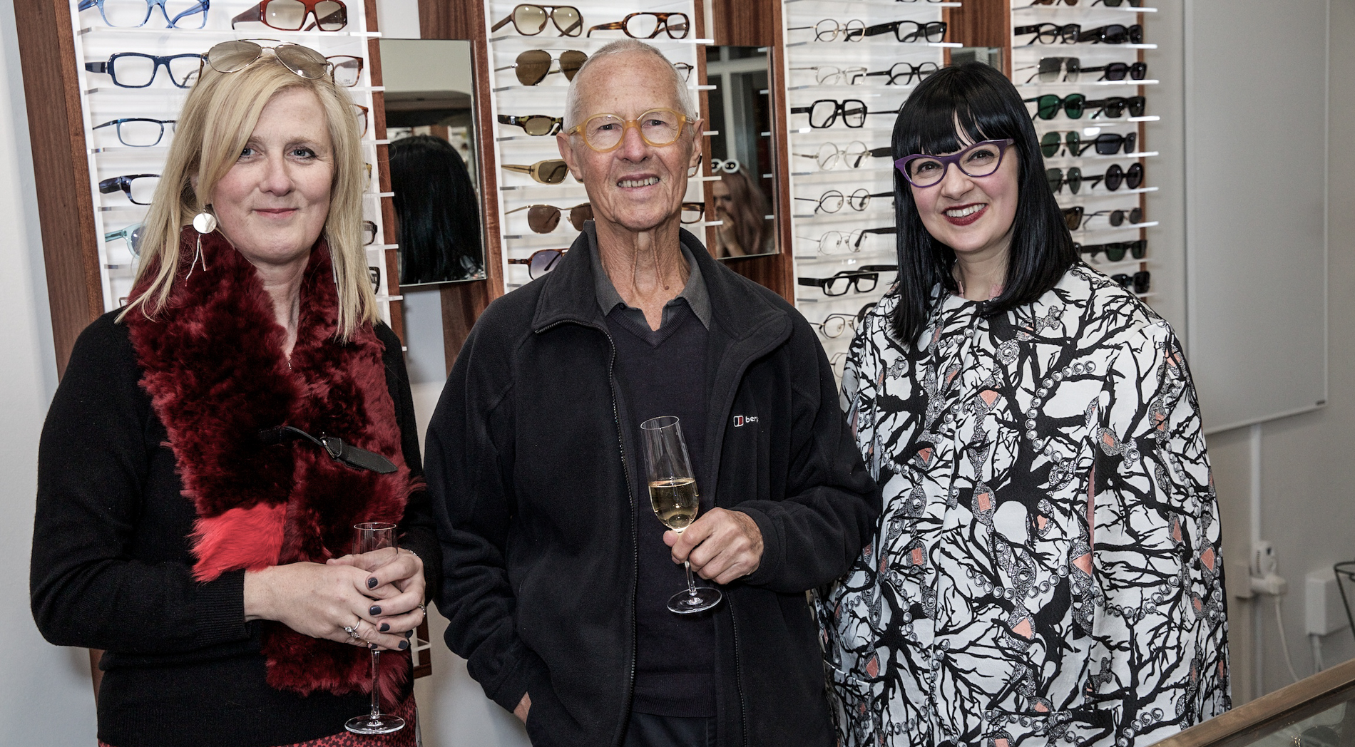 MD Fiona Mohammadi with co-founder Graham Cutler and Marie Wilkinson